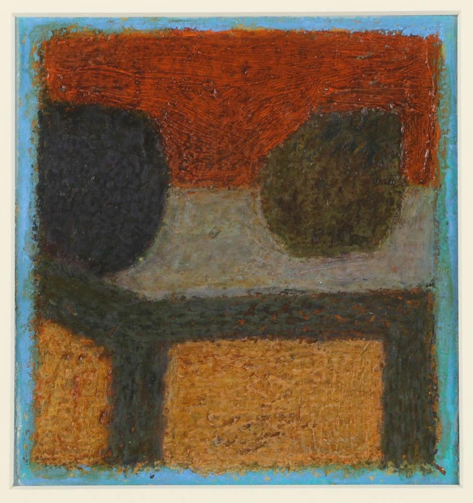 """Edgar Hatten Oil Painting on Paper """"Two Fruit"""""""