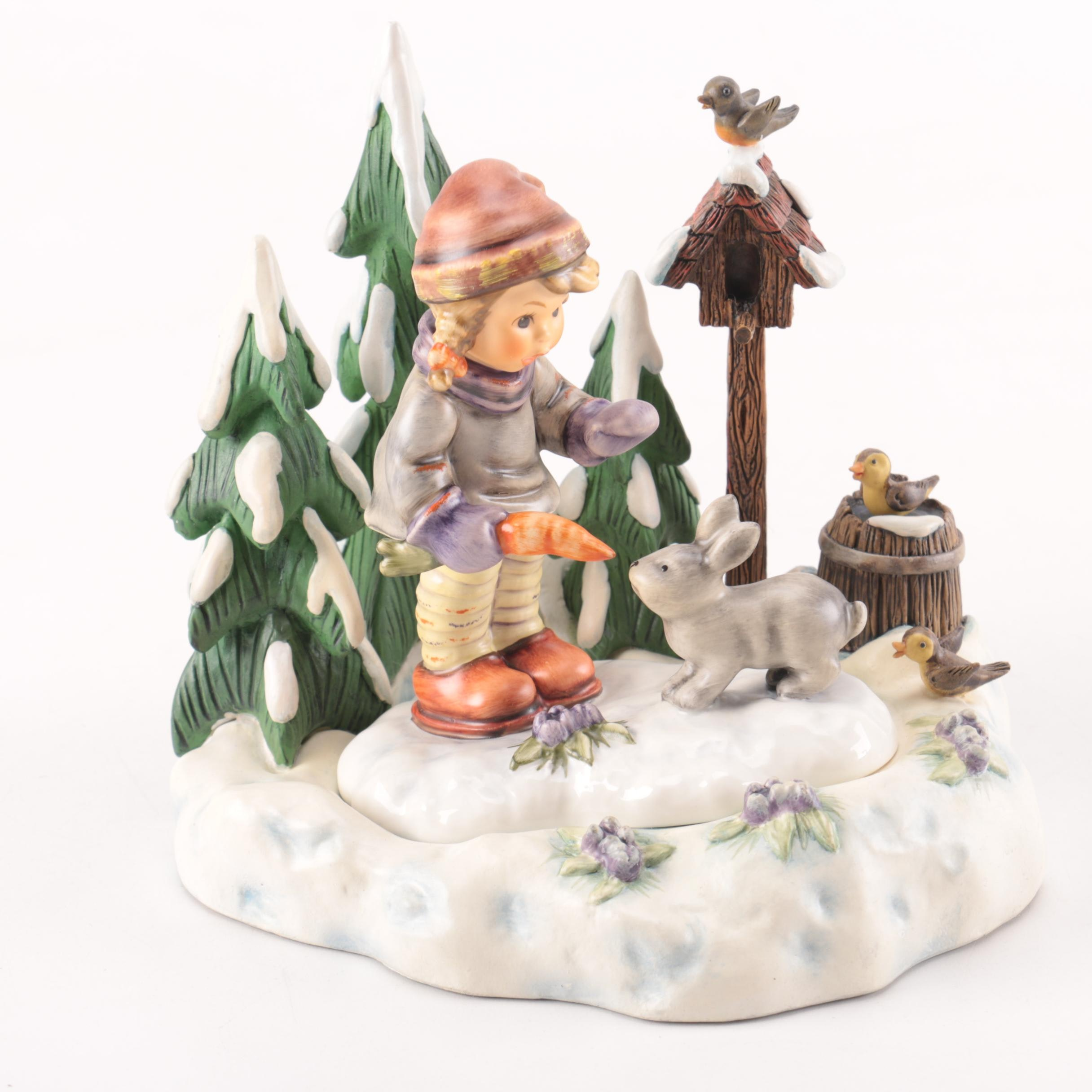 Hummel Accents Winter Themed Gift Set