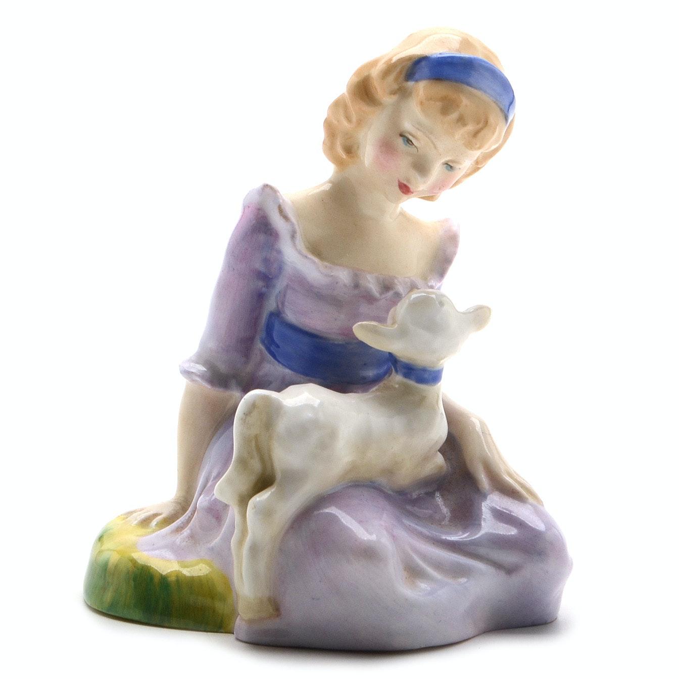 "Royal Doulton ""Mary Had a Little Lamb"""