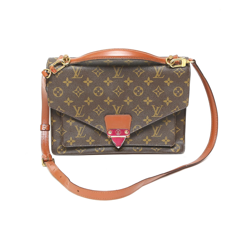 Vintage Louis Vuitton Monogram Satchel Handbag