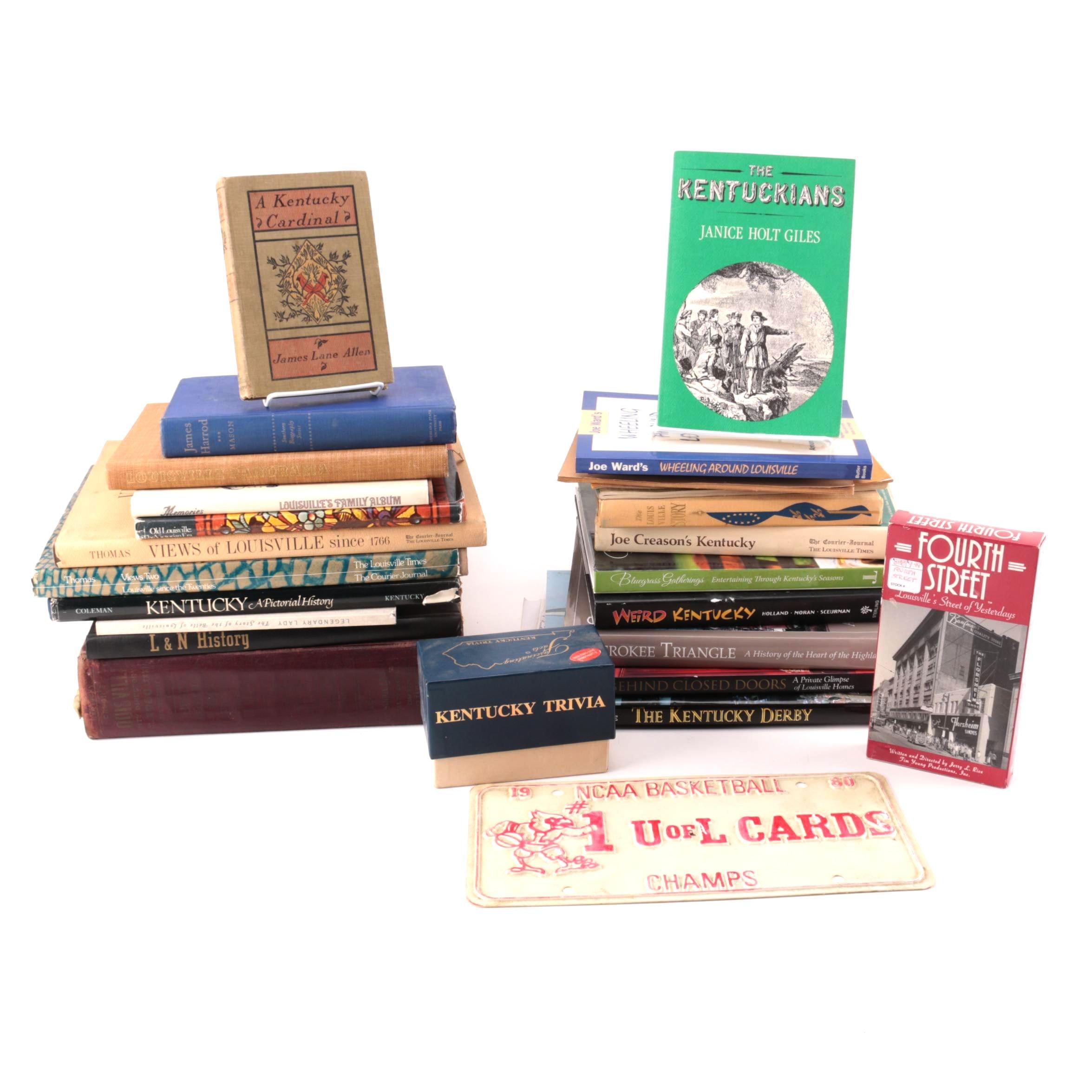 Books, Ephemera and Memorabilia on Kentucky