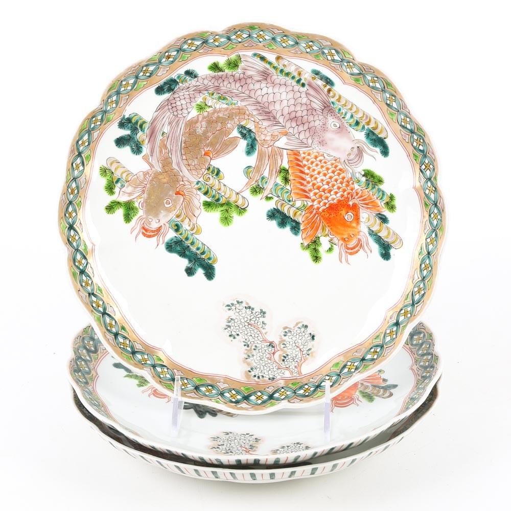 Koi Fish Plates