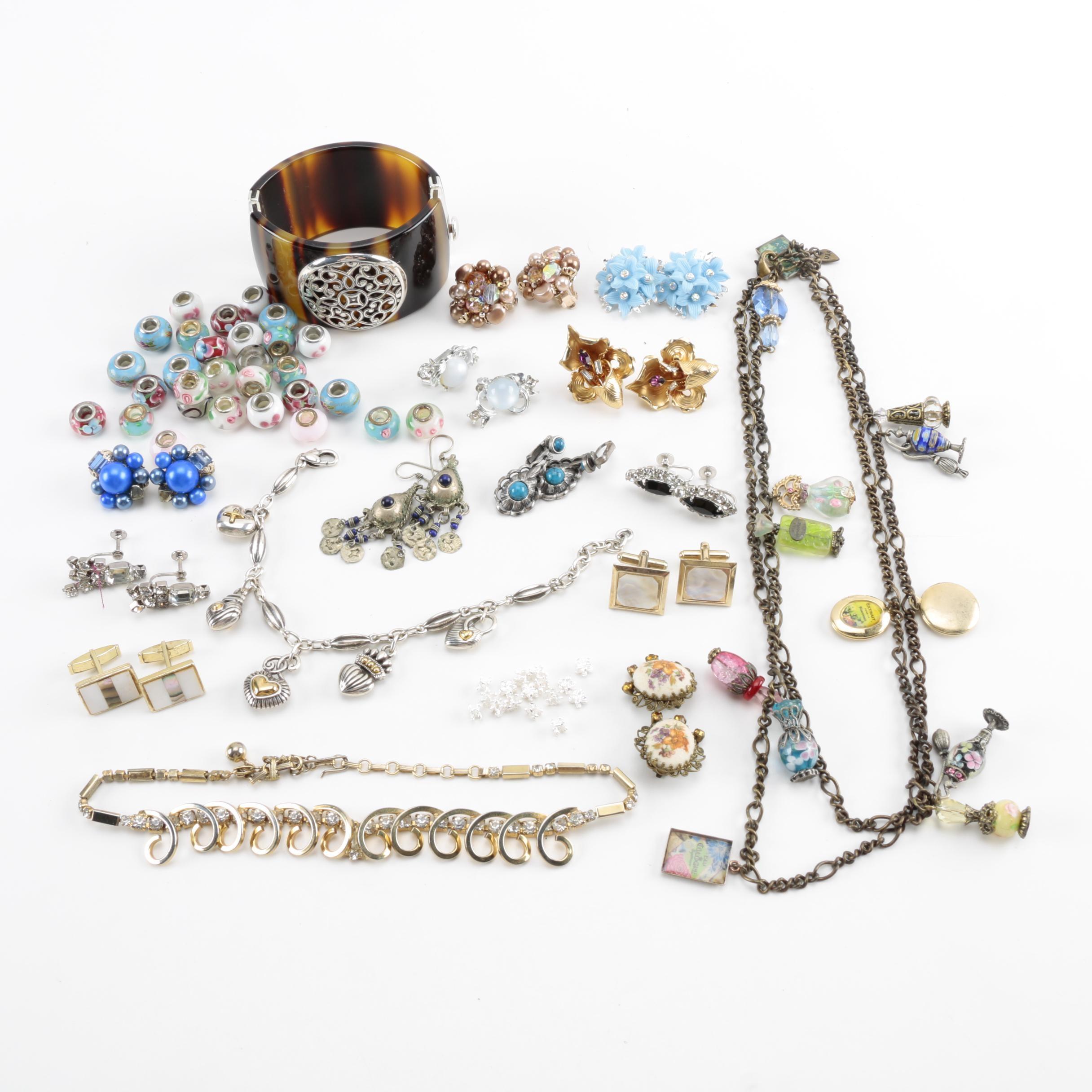 Assorted Costume Jewelry Including Coro
