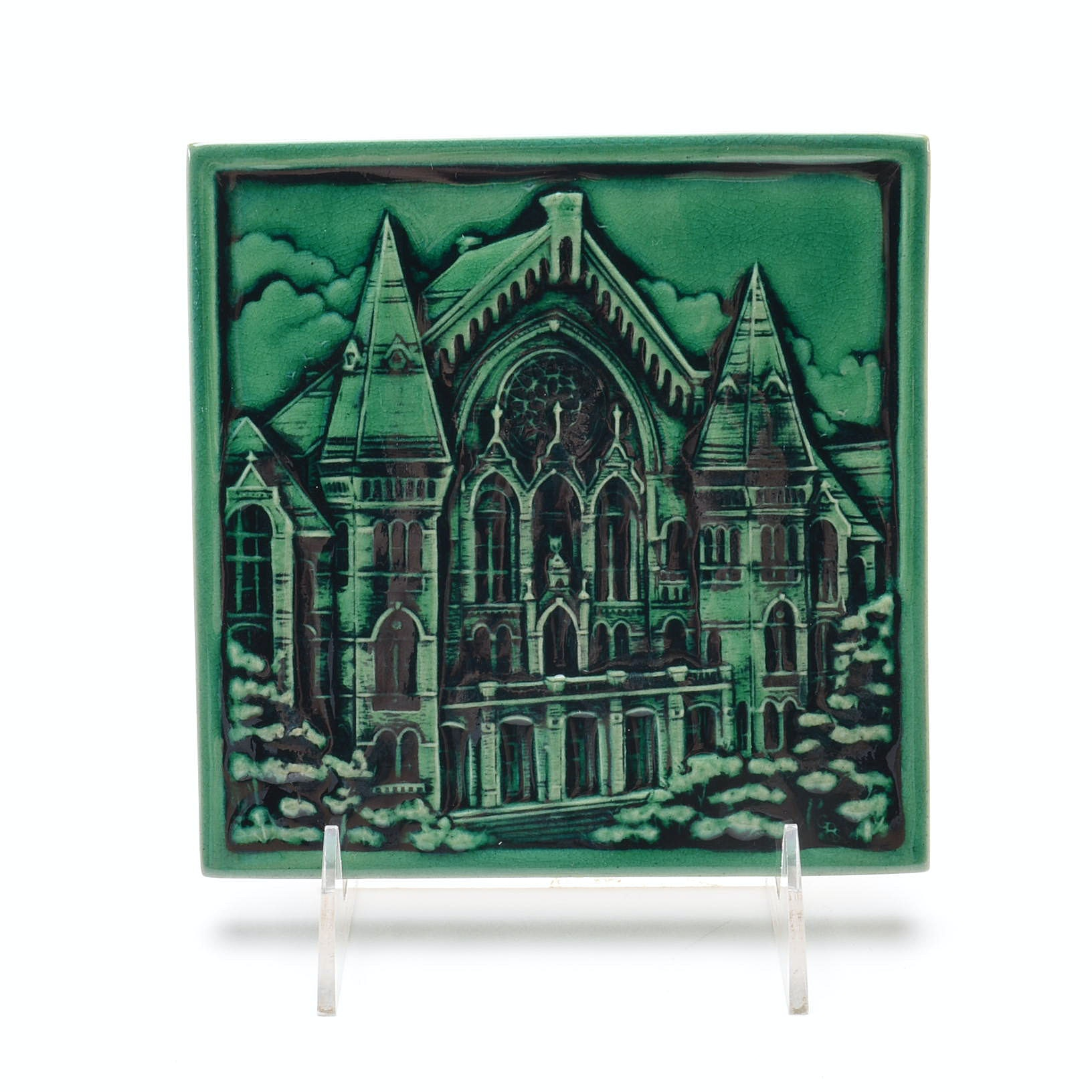 Rookwood Art Pottery Cincinnati Music Hall Tile