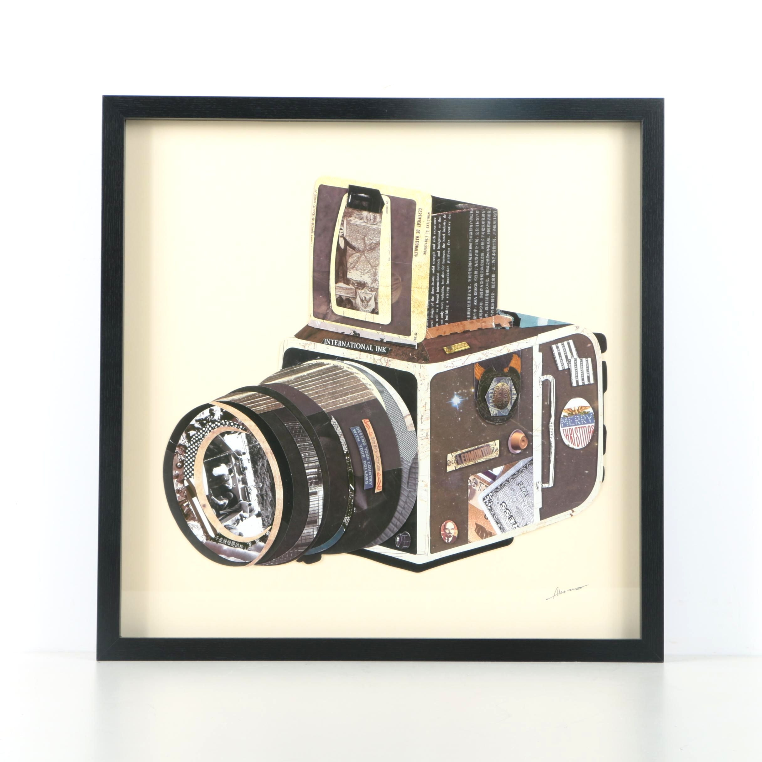 Alex Zeng Collage of a Camera