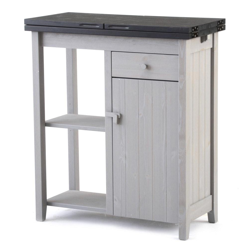 Expandable Kitchen Storage Cabinet