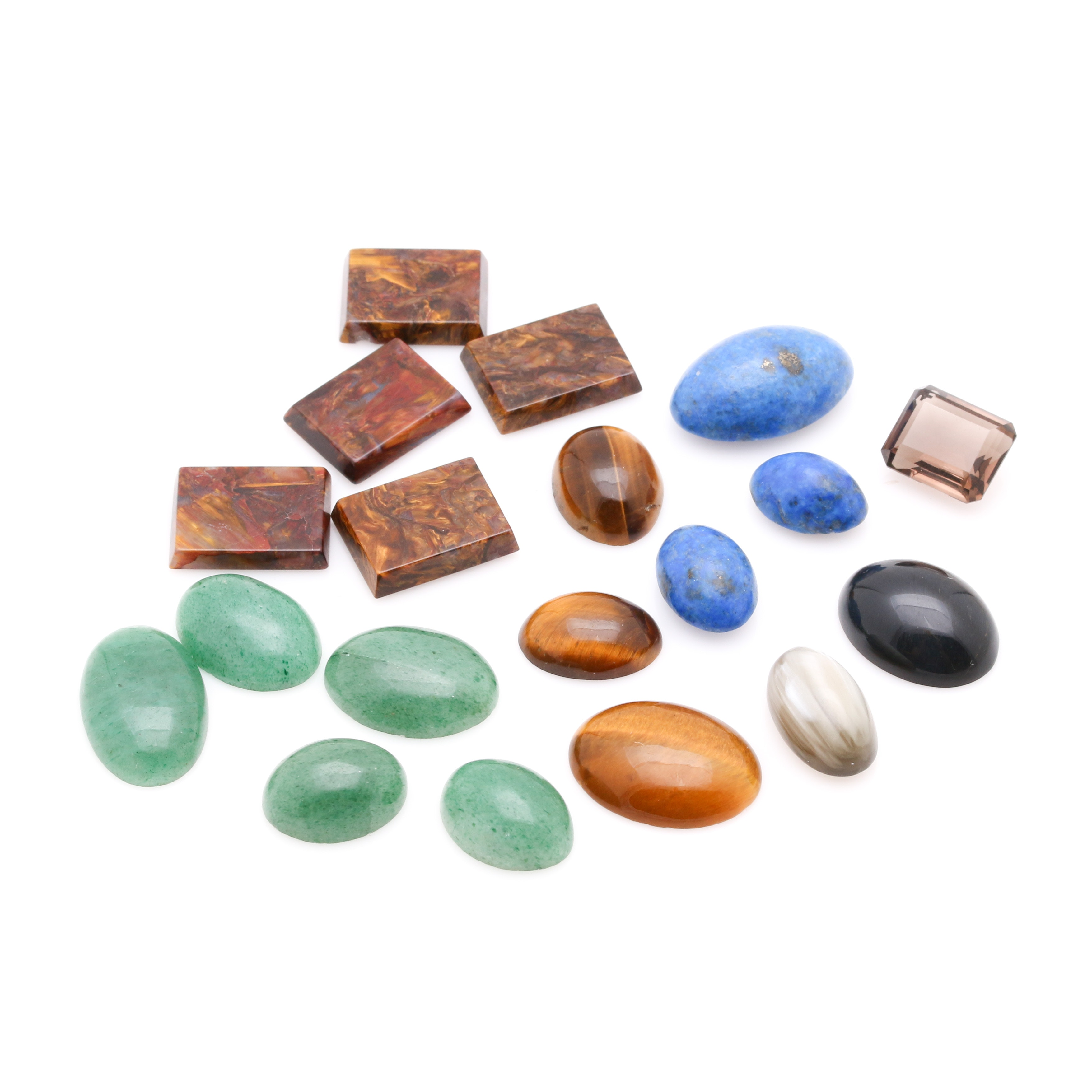 Assortment of Loose Gemstones