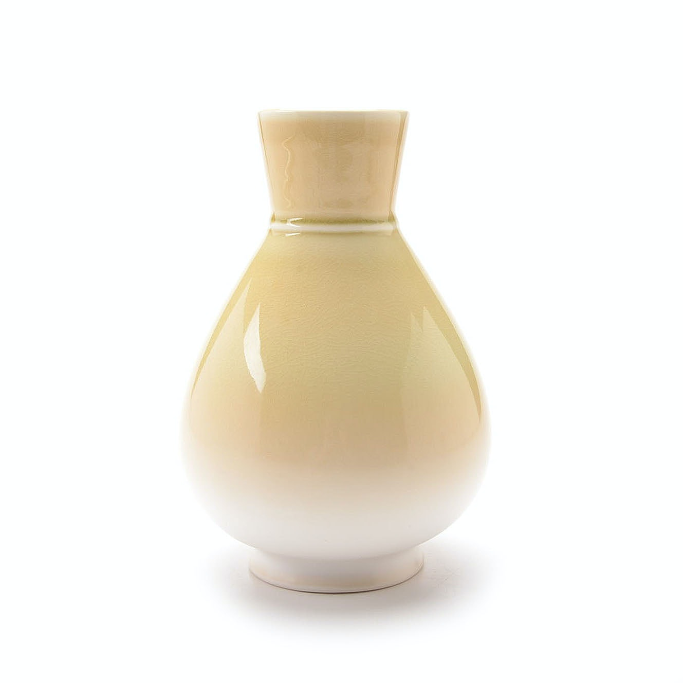 Rookwood Art Pottery Citrine Alkaline Teardrop Vase