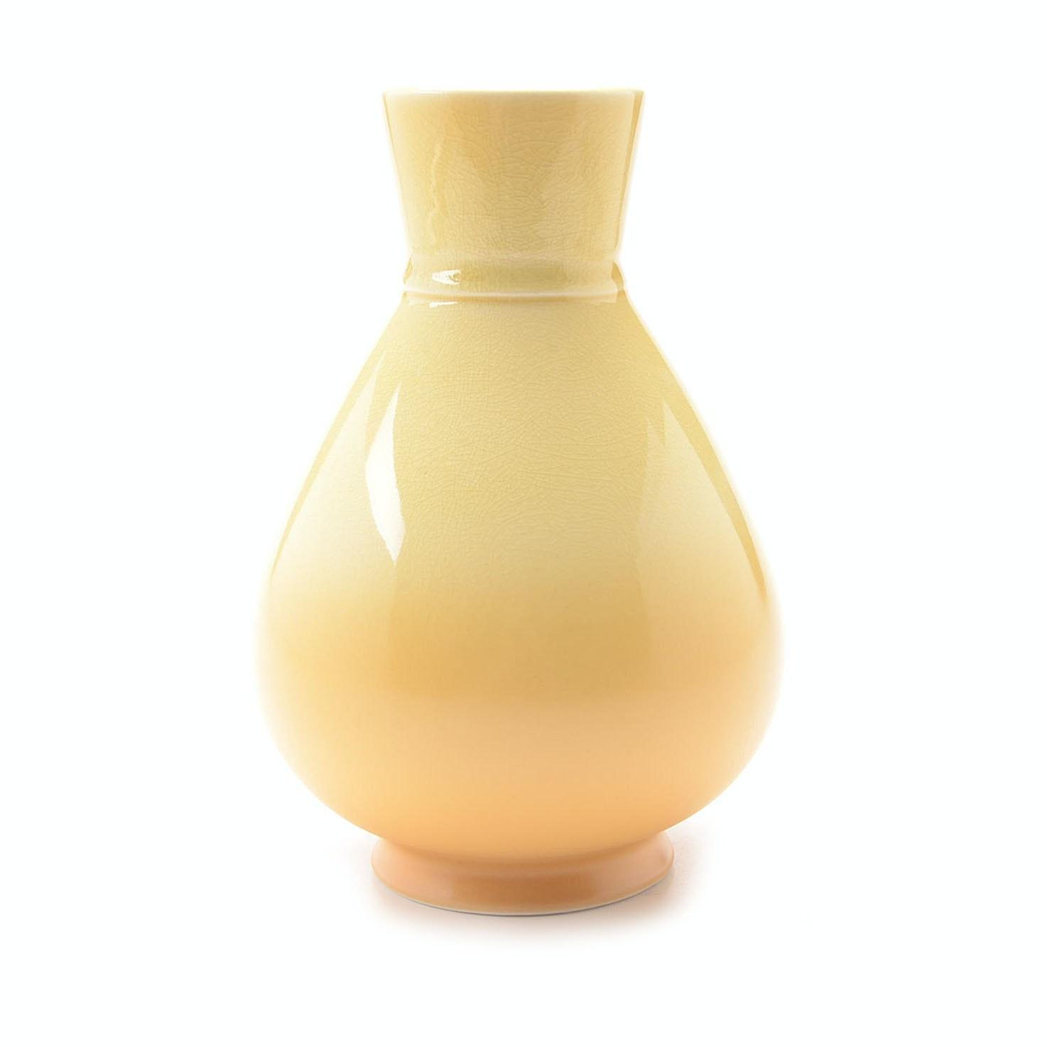 Rookwood Art Pottery Yellow Teardrop Vase