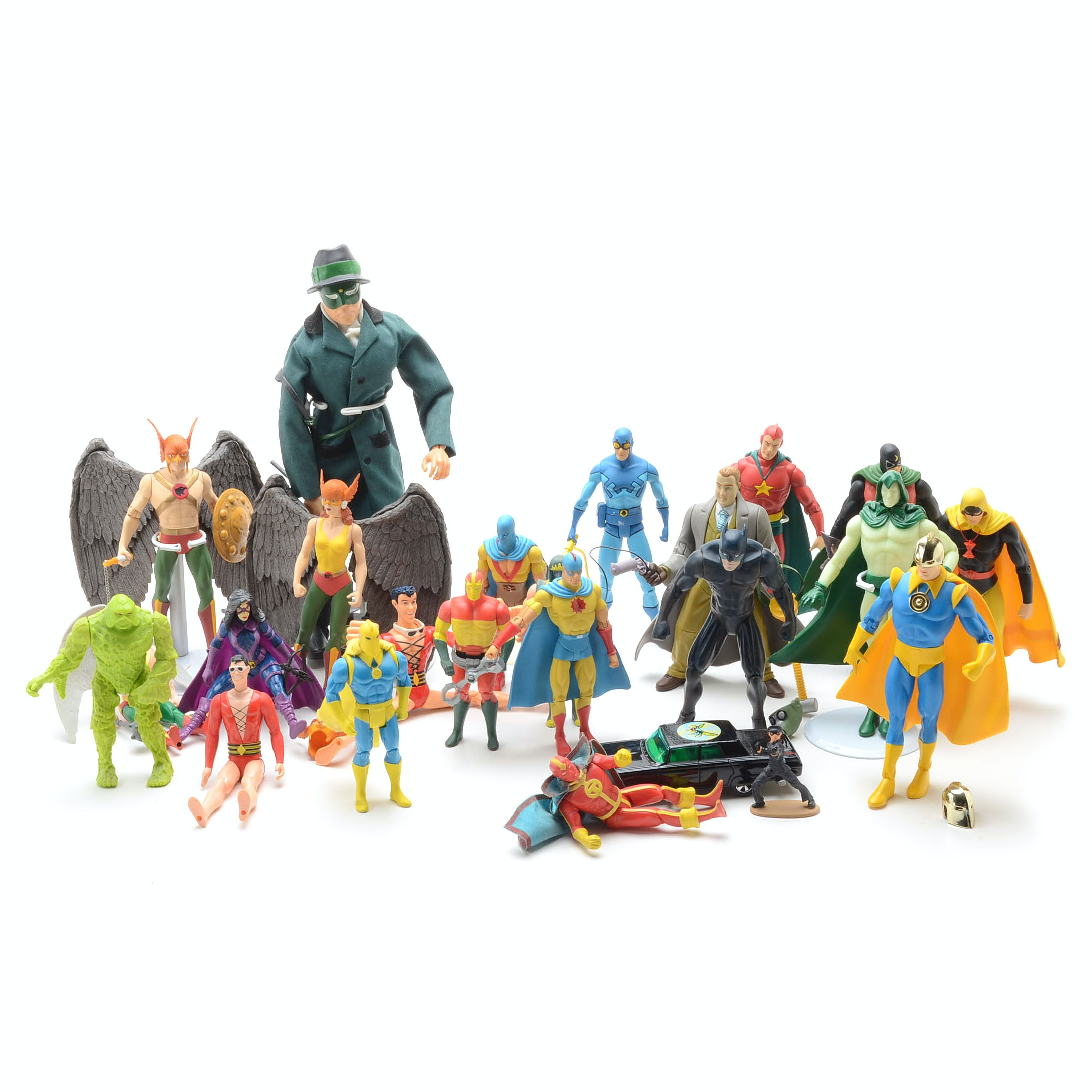 Collection of DC Comics Assorted Super Hero Action Figures