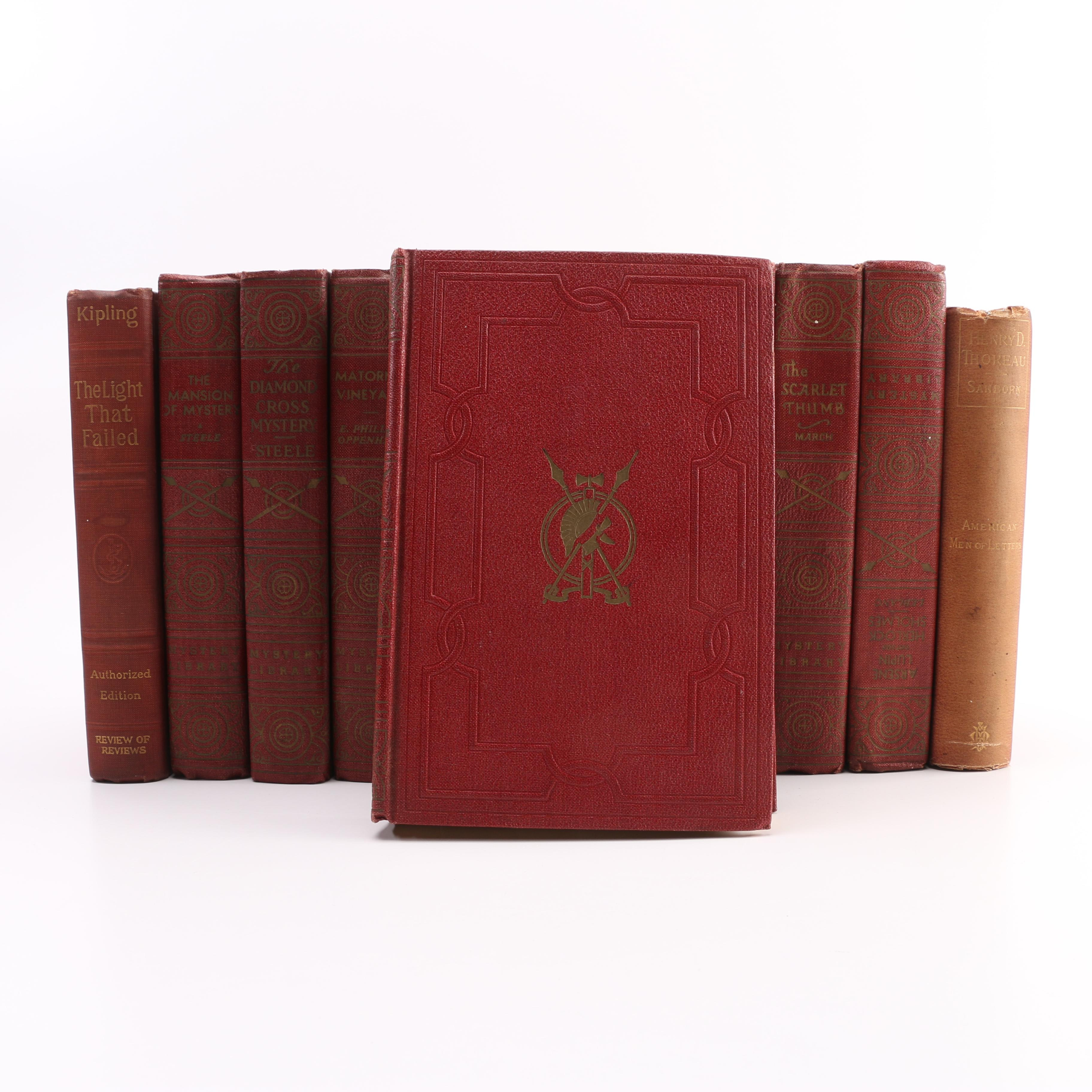 Collection of Antique and Vintage Books