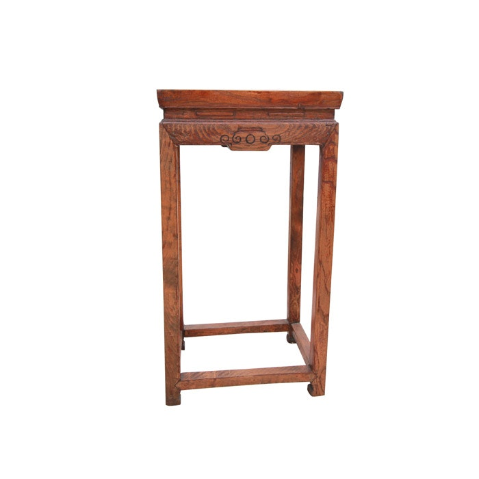 Rustic Chinese End Table