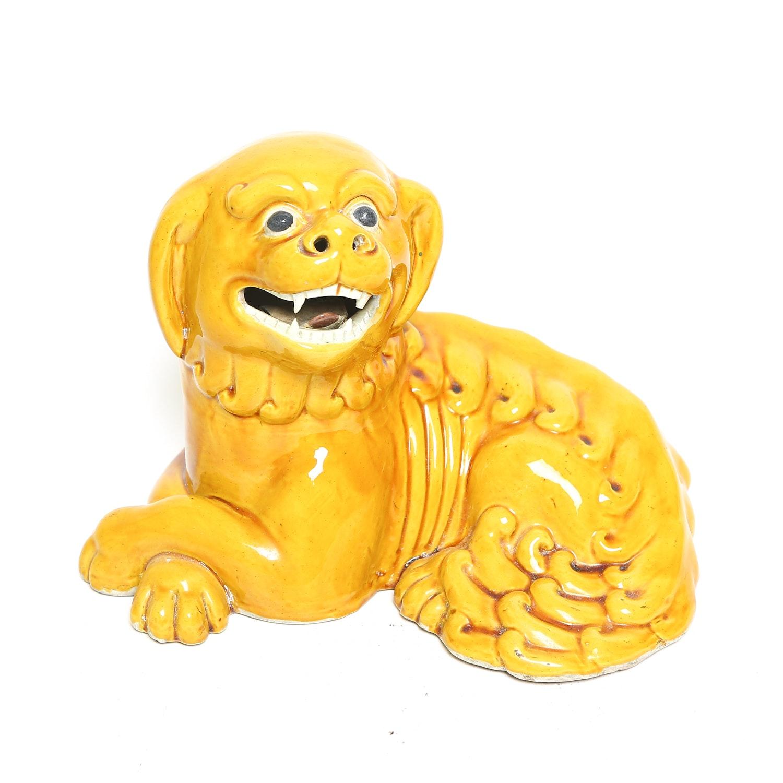 Ceramic Chinese Guard Dog