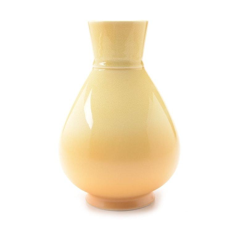 Rookwood Art Pottery Ombre Yellow Teardrop Vase