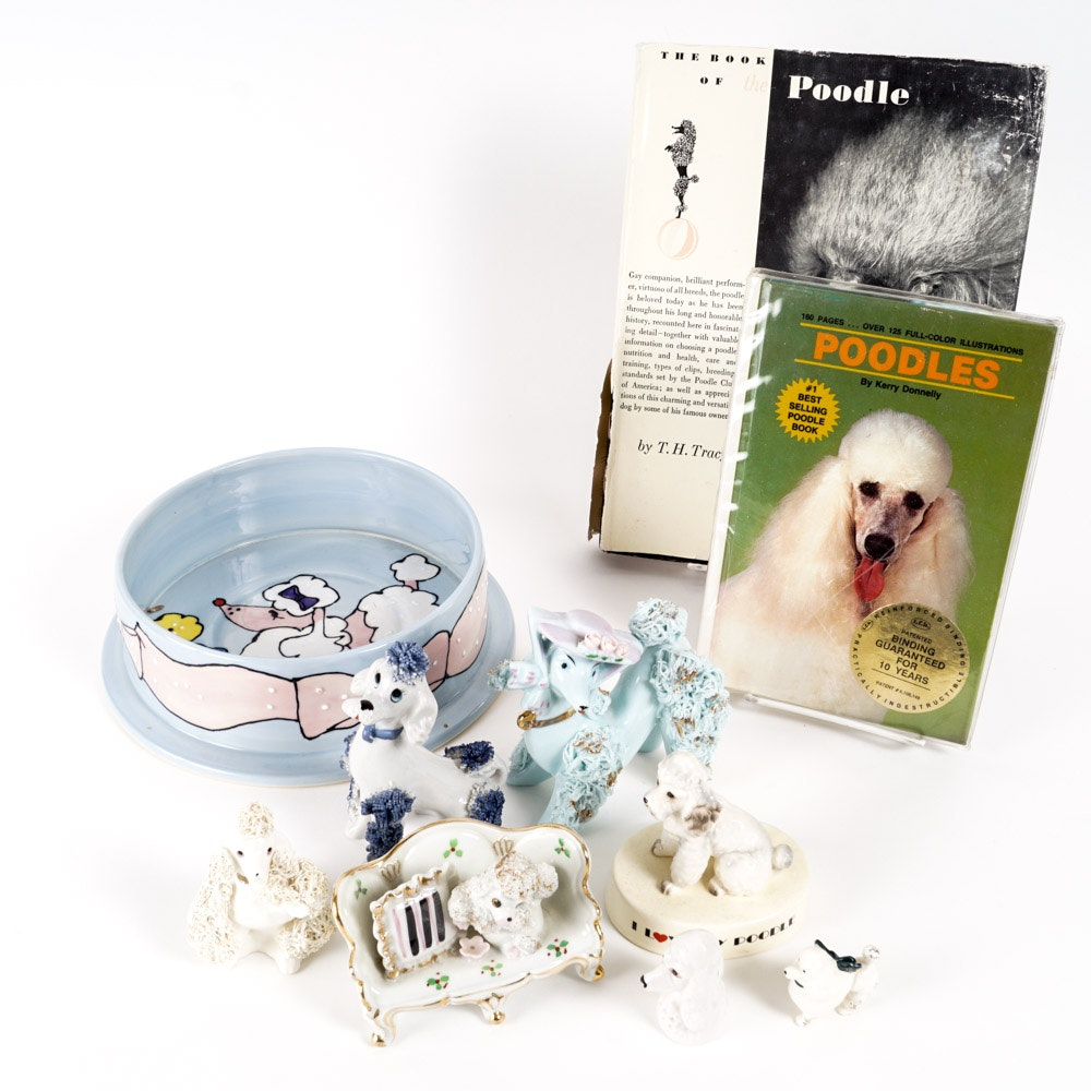 Poodle Figurines and More