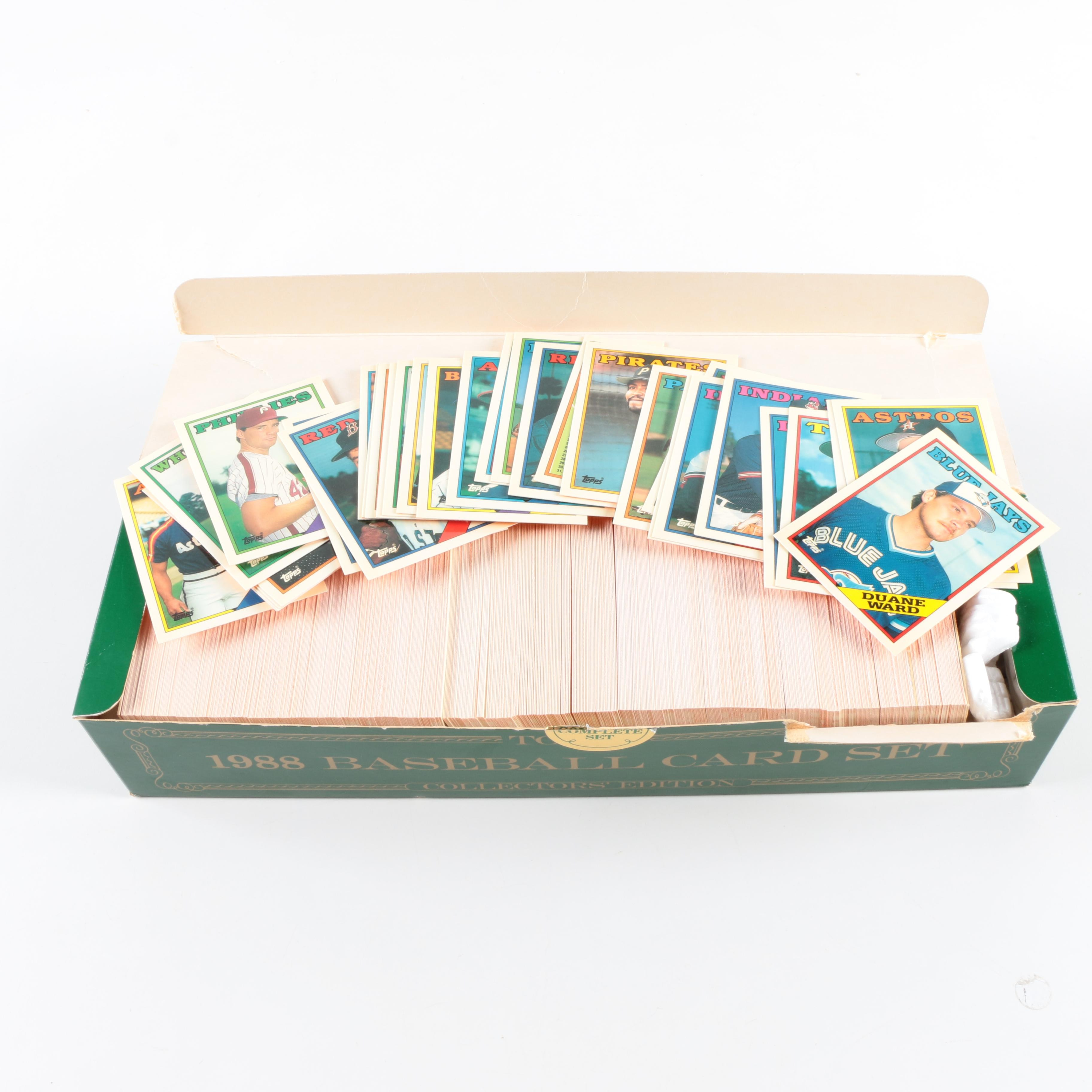 1988 Topps Tiffany Set Factory Set Collectors' Edition