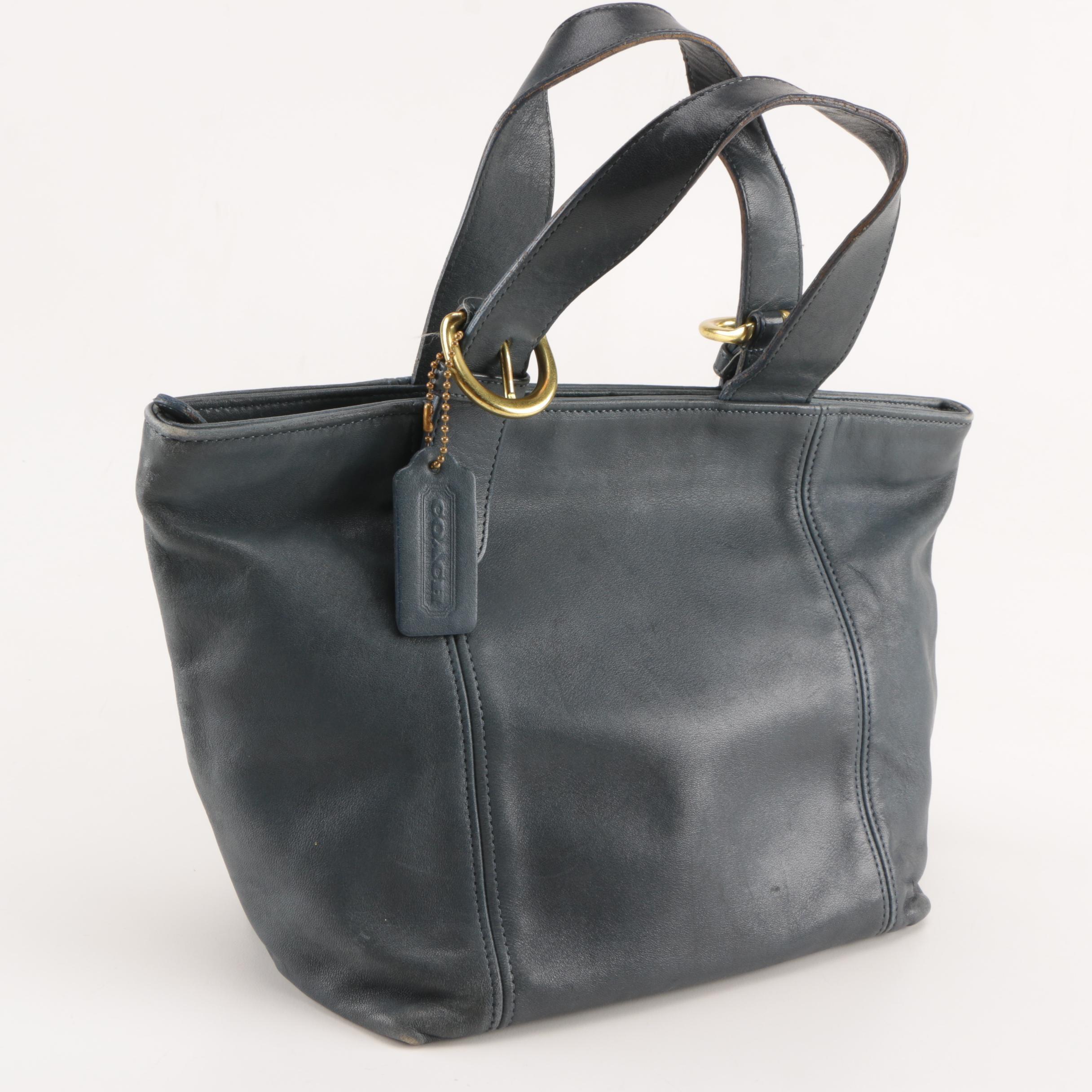 Coach Waverly Vintage Leather Satchel