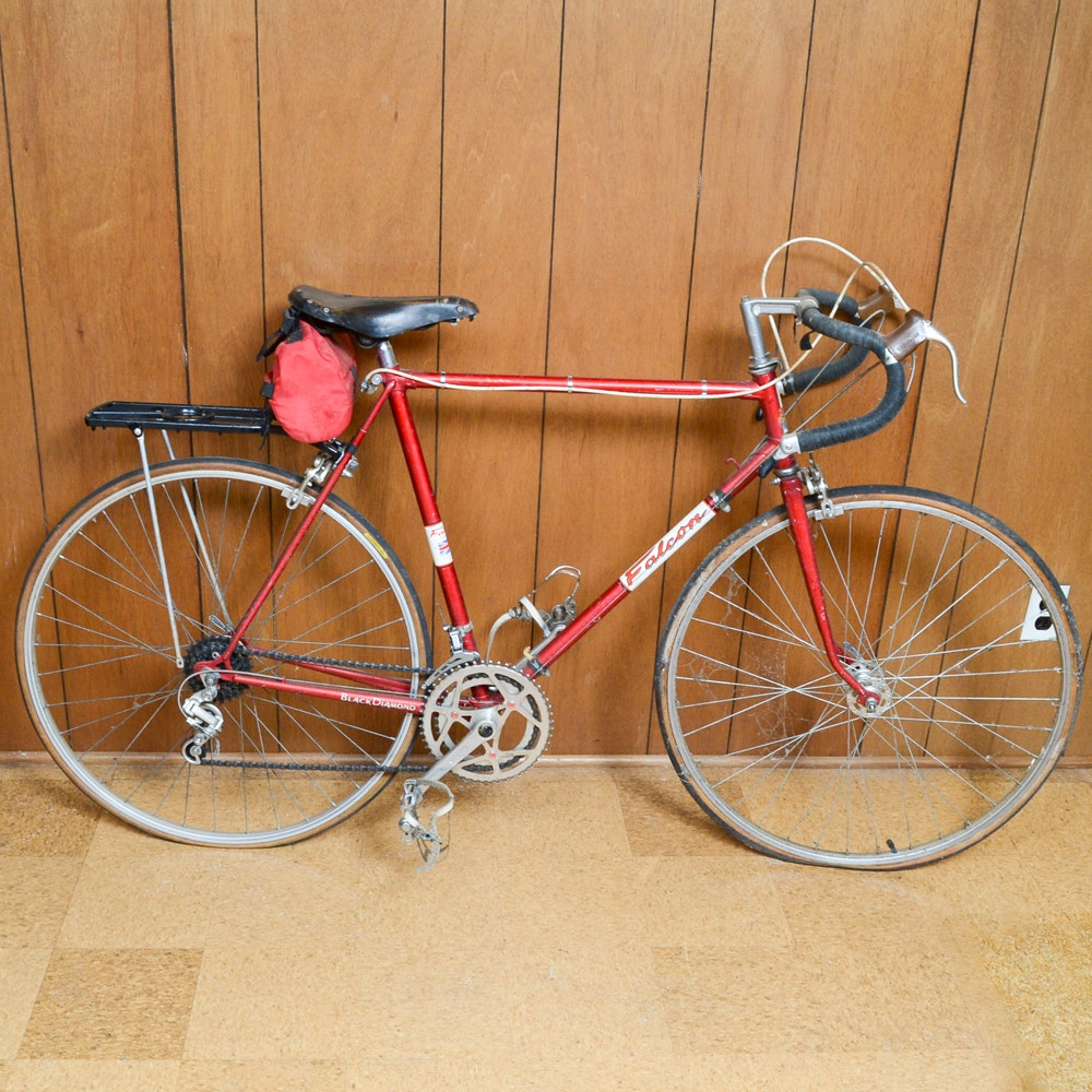 Vintage Falcon Black Diamond Road Bike