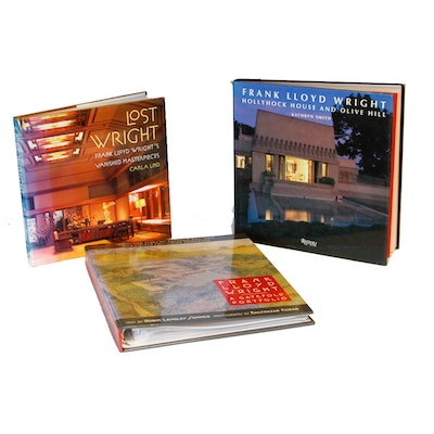 Collection of Frank Lloyd Wright Books