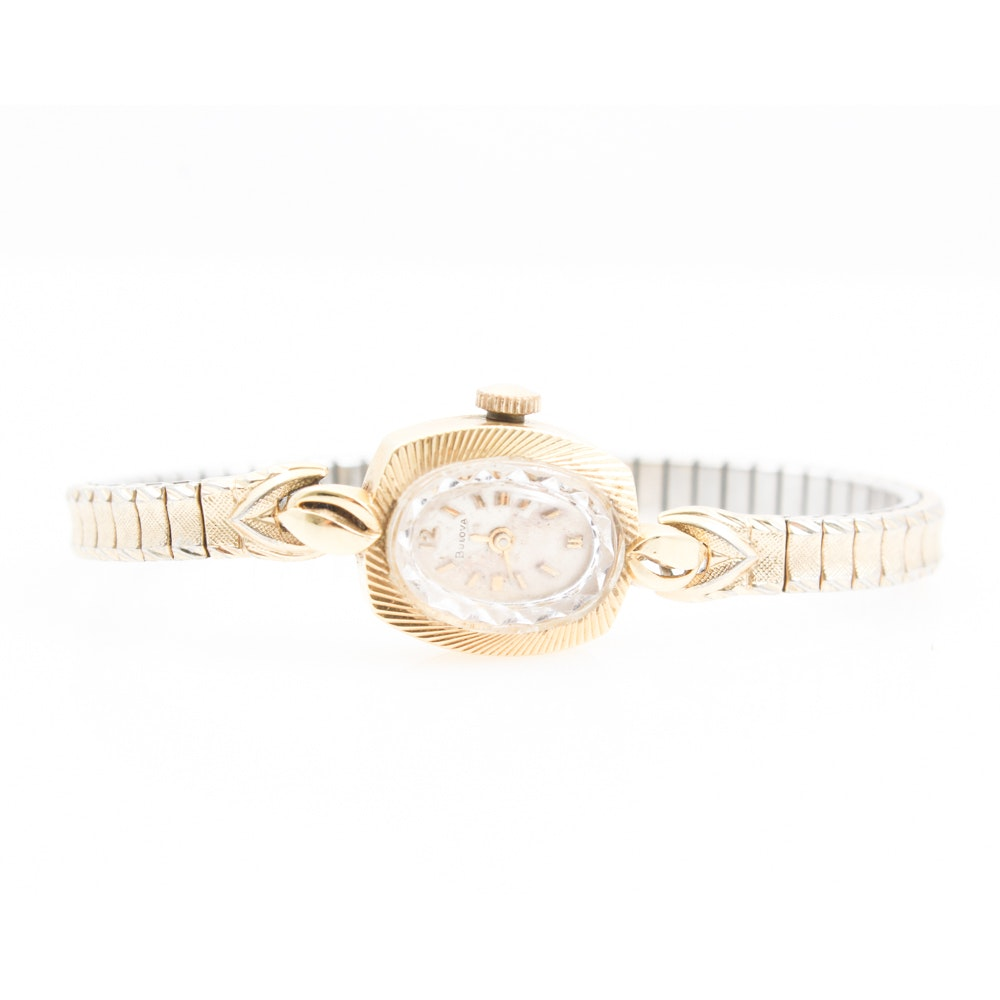 14K Yellow Gold Wristwatch