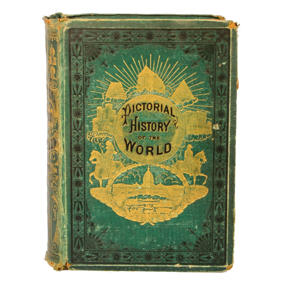 """Pictorial History of the World"" by James D. McCabe"