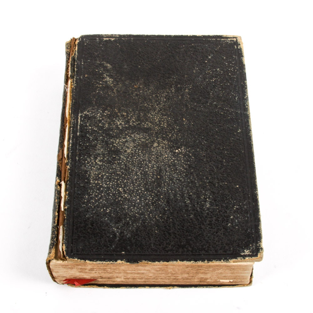 1897 Bible by the American Bible Society