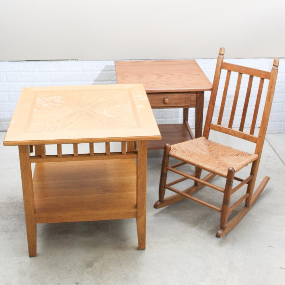 Oak Accent Furniture