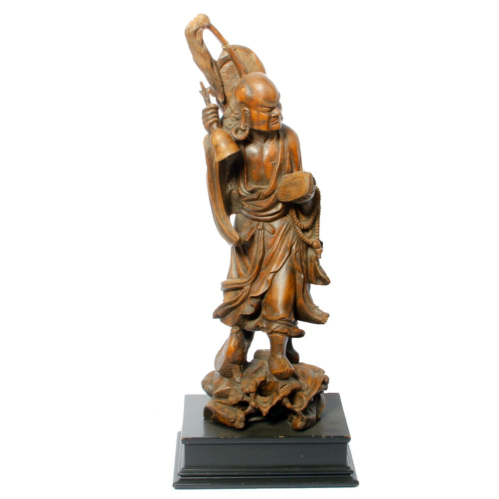 Meiji Period Wooden Sculpture