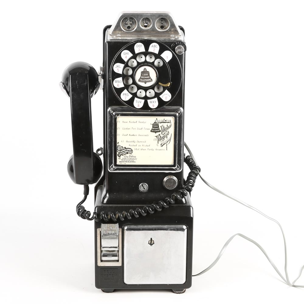 Vintage AT&T Long Distance Payphone