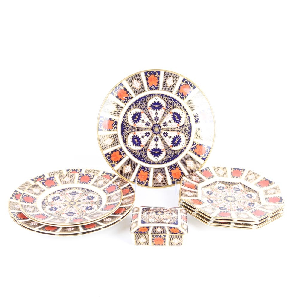 "Royal Crown Derby ""Old Imari"" Bone China Tableware"