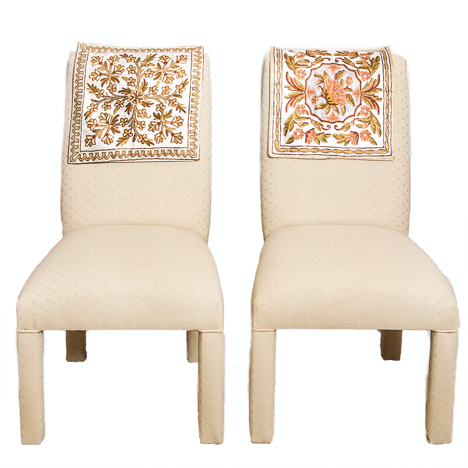 Fully Upholstered Parsons Dining Chairs ...