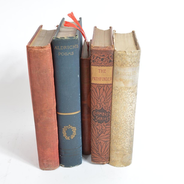 Assortment of Antique Books