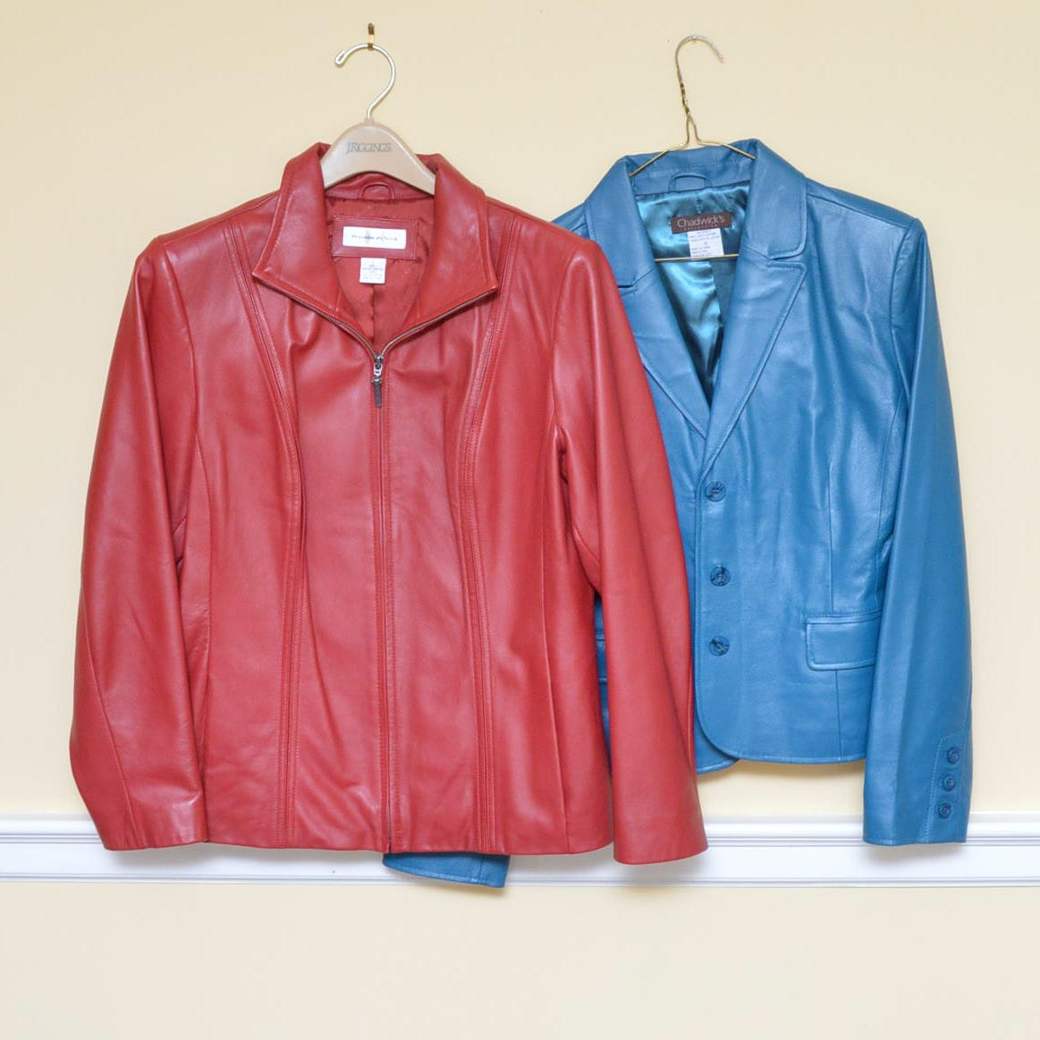 Women's Leather Coats Including Preston & York and Chadwick's