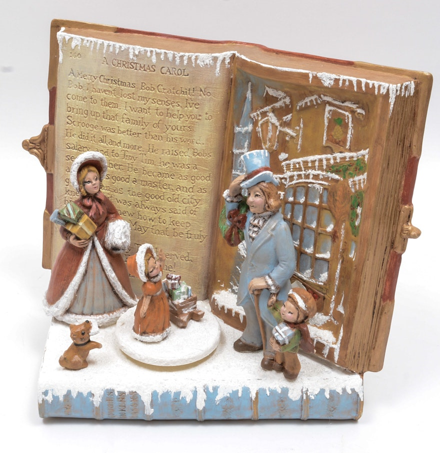 "Charles Dickens ""A Christmas Carol"" Music Box : EBTH"