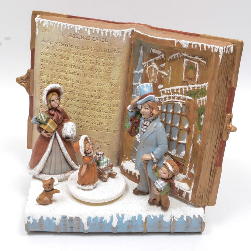 "Charles Dickens ""A Christmas Carol"" Music Box | EBTH"