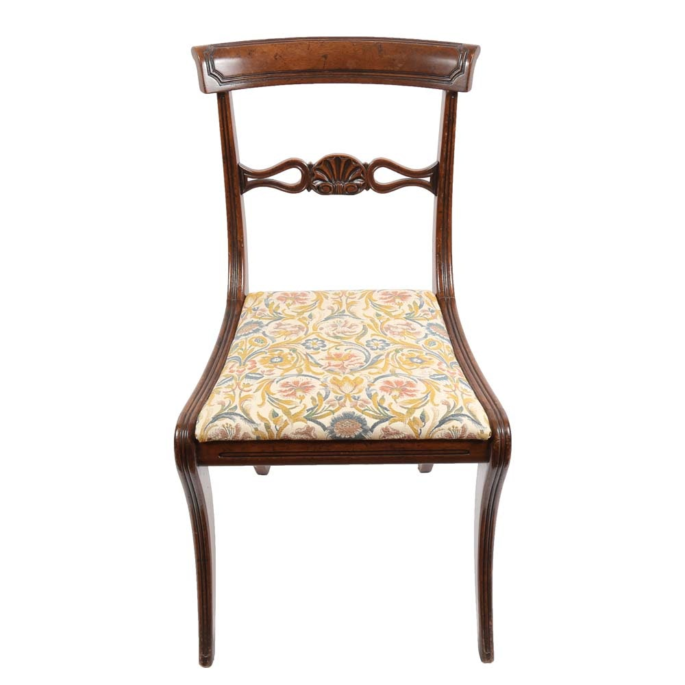 Sheraton Style Accent Chair