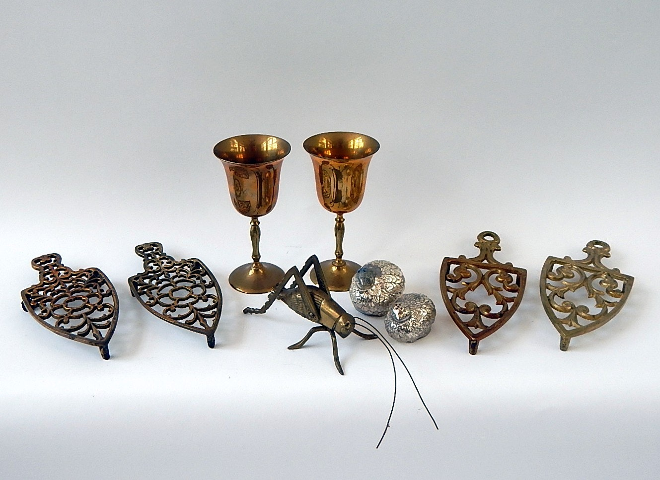 Brass and Metal Decor Lot
