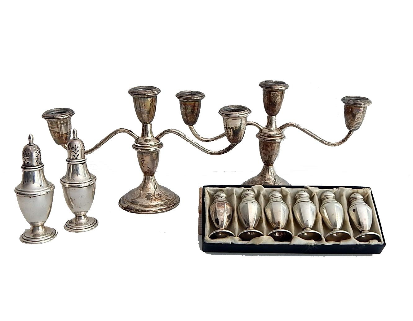 Sterling Silver Entertaining Lot