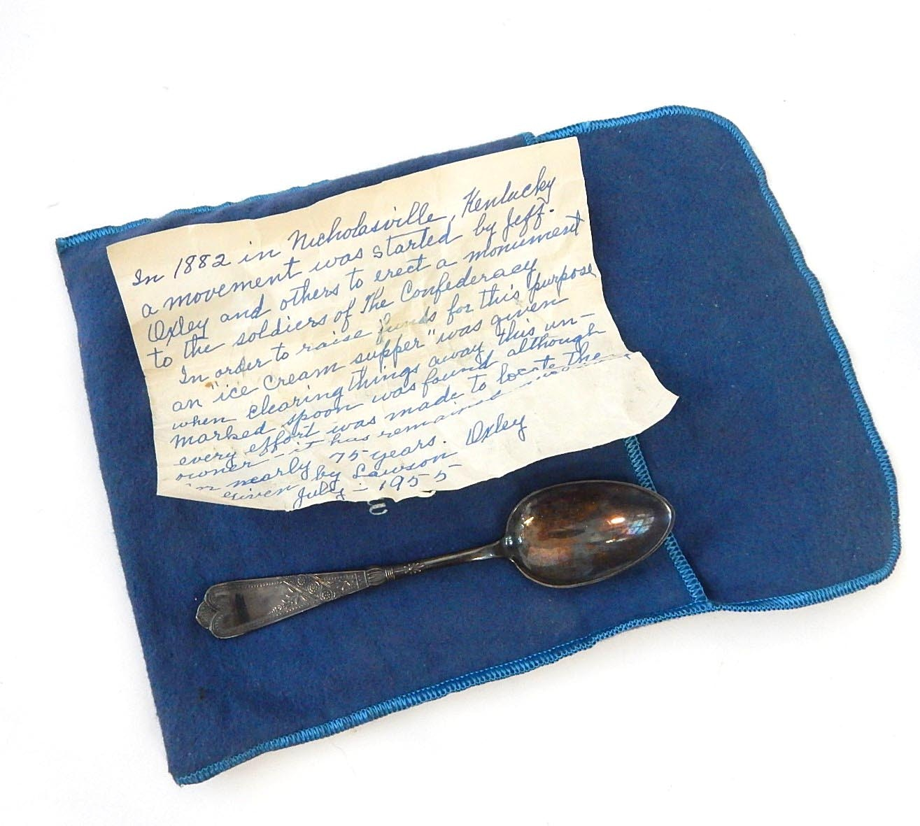 Spoon with Story - Civil War Era