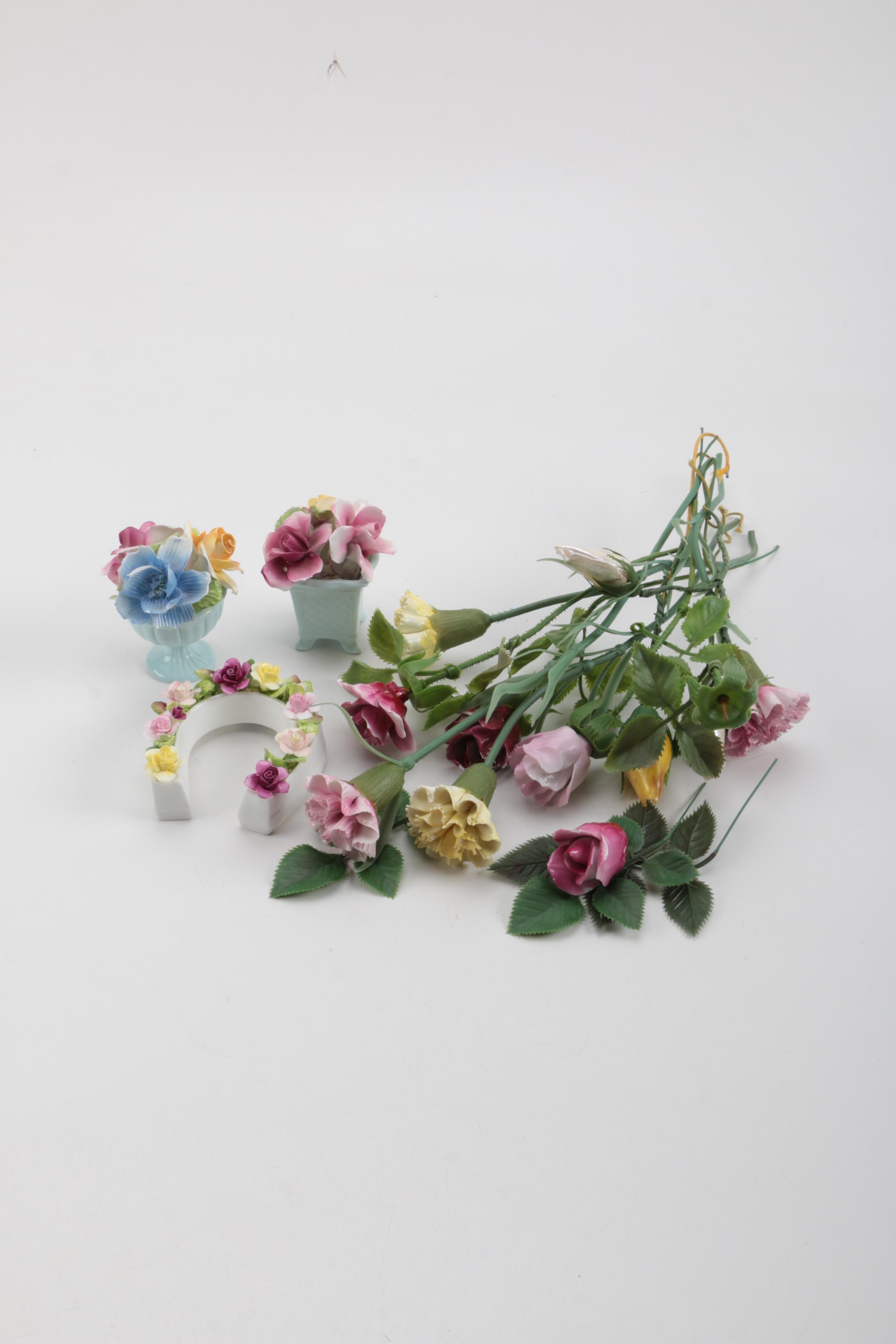 Variety of Artificial Flower Decor