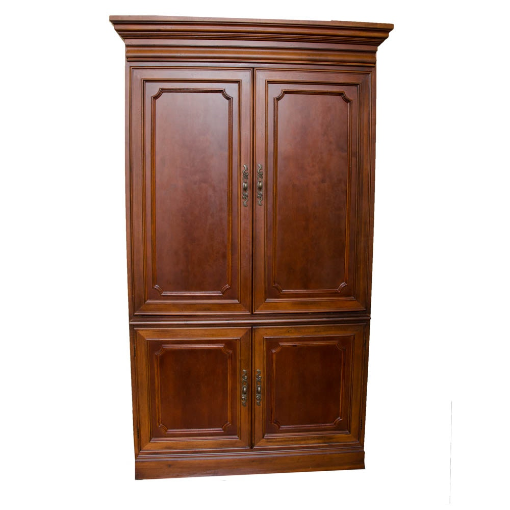 Armoire with Television and DVD Player