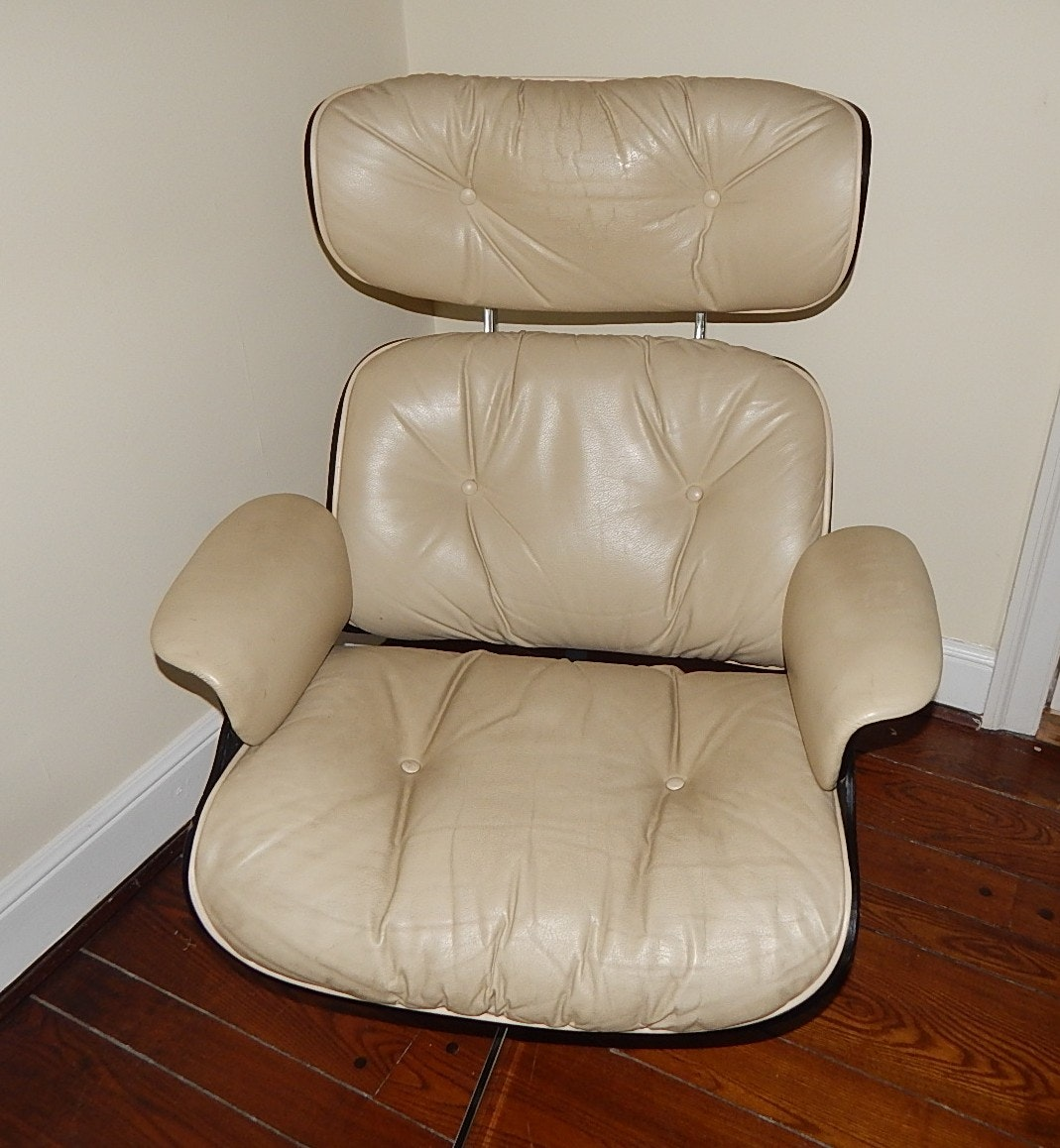 Eames Style Chair And Footstool Ebth