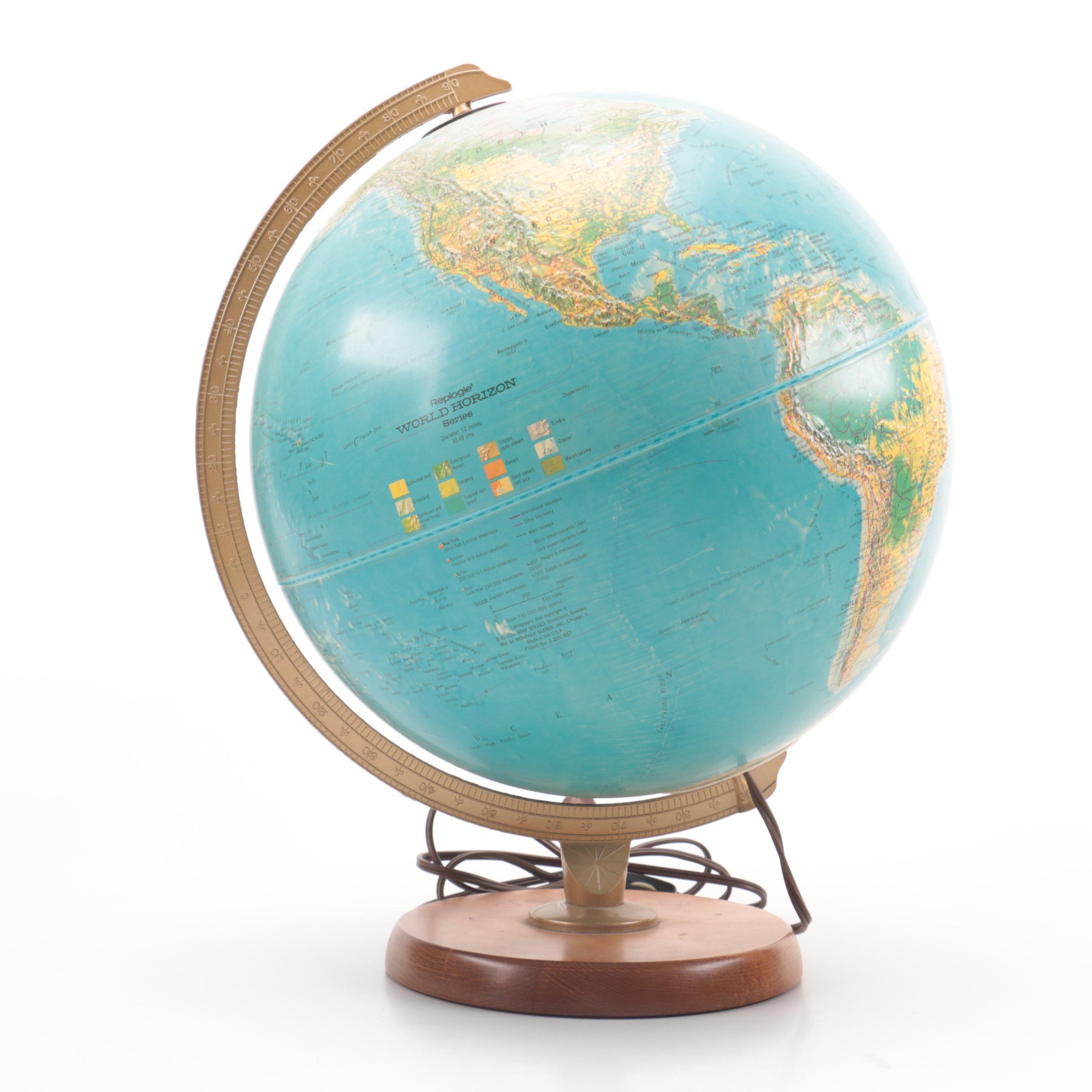 Replogle World Horizon Series World Desk Globe