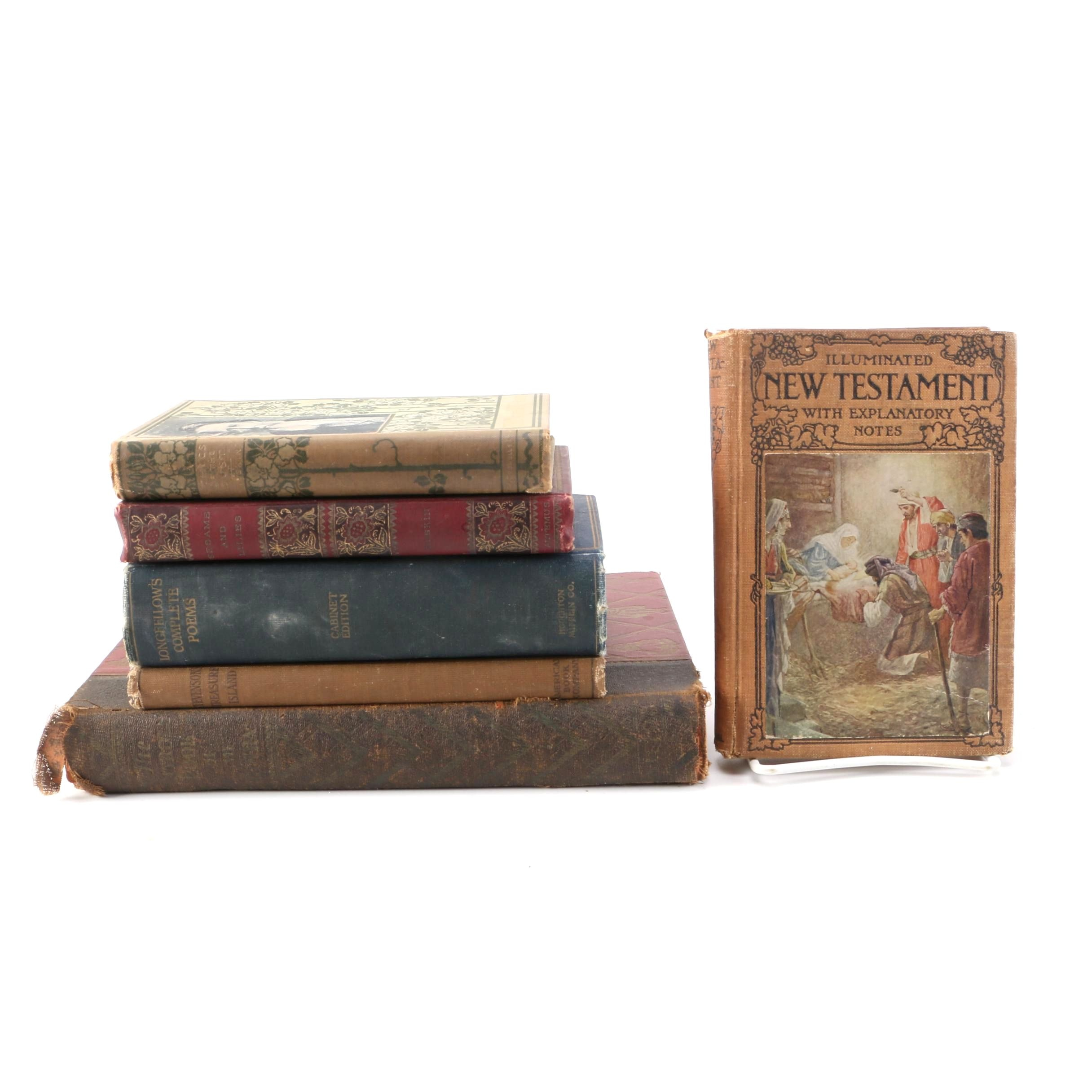 Assorted Books Featuring John Ruskin