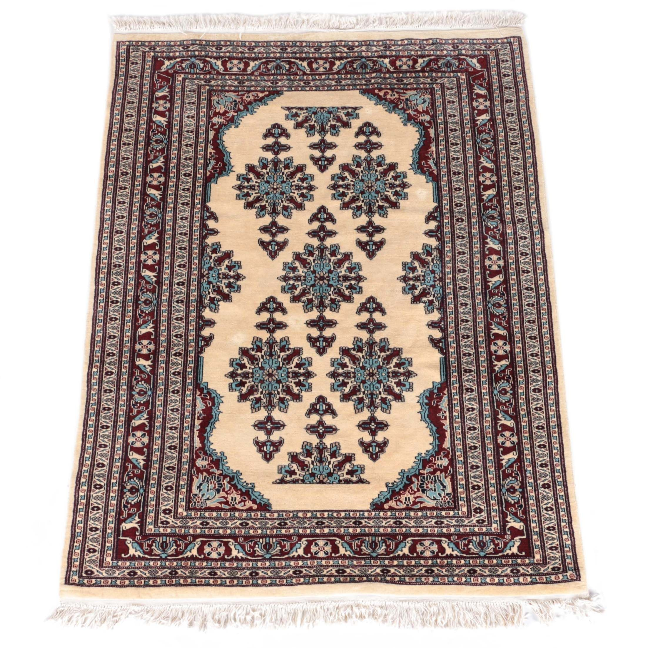 Hand-Knotted West Persian Area Rug