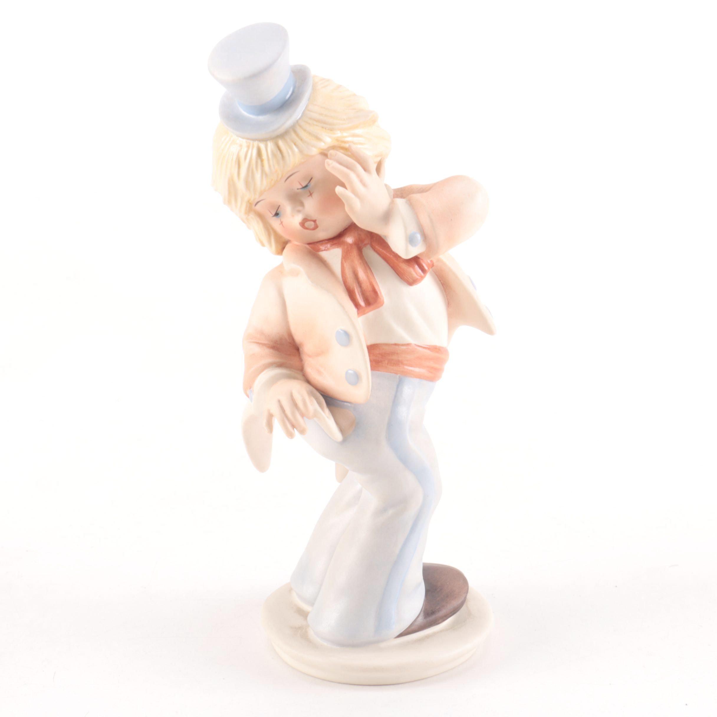 """Limited Edition Goebel Ceramic Figurine """"Oops!"""" by Gerhard Skrobek"""