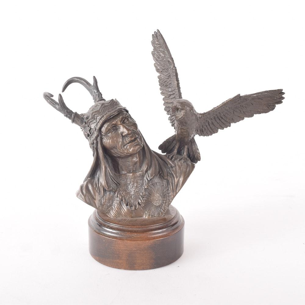 1983 Limited Edition Douglas Downs Bronze Figurine