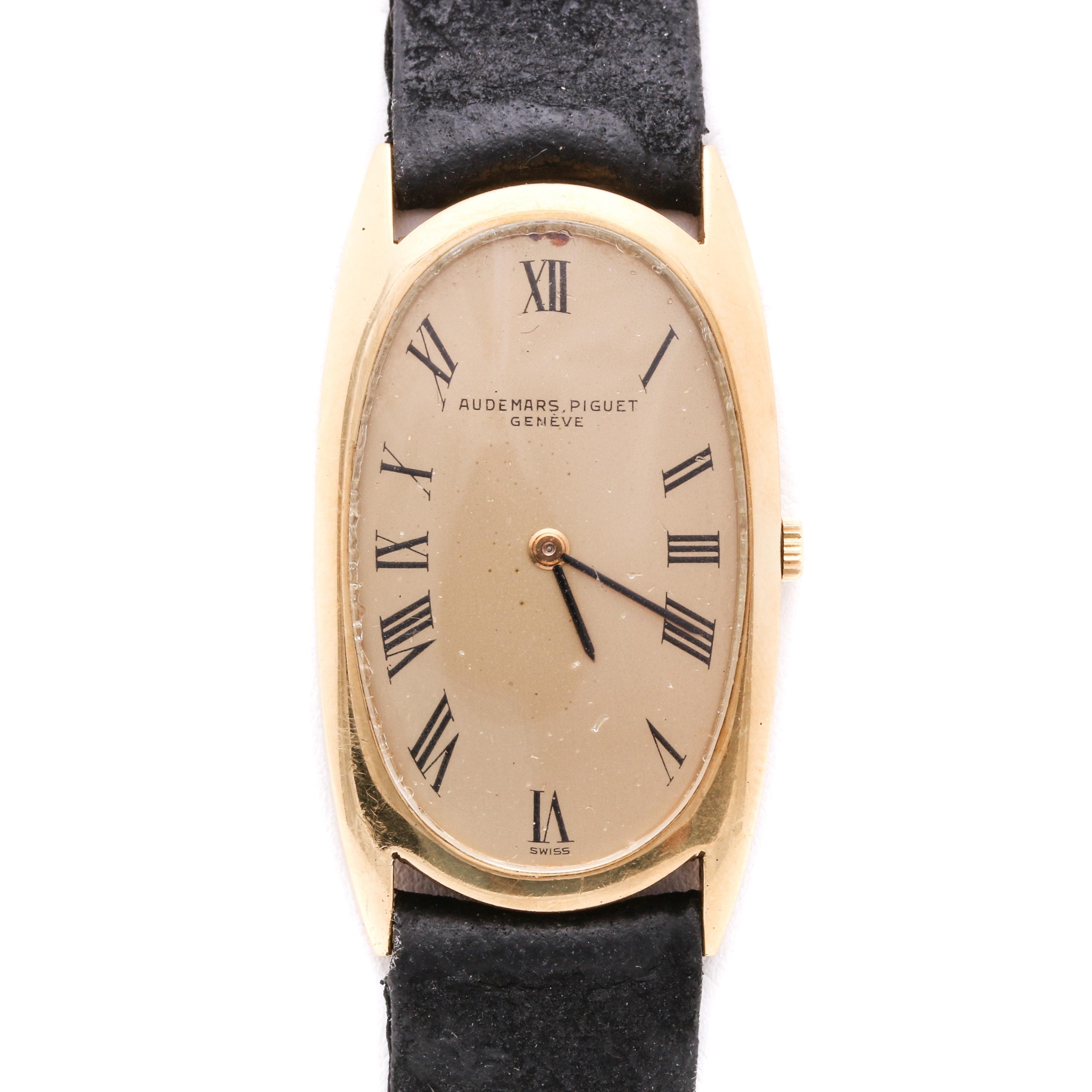 Audemars Piguet Geneve 18K Yellow Gold Wristwatch