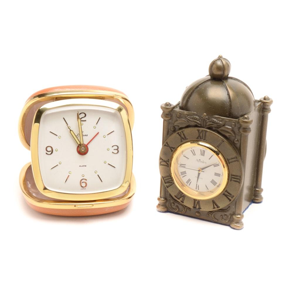 Two Small Clocks