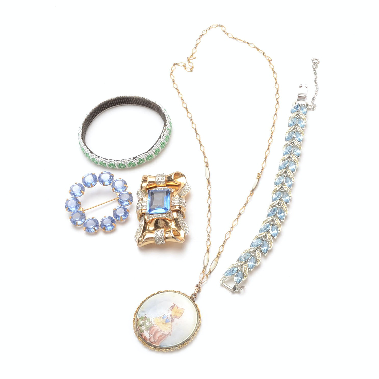 Vintage Costume Jewelry Collection Including Coro